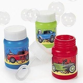FX Educational Products - MINI RACE CAR BUBBLE BOTTLES (2 DOZEN) - BULK -