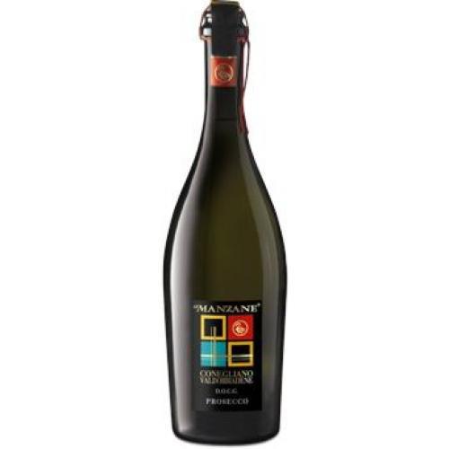Le Manzane Prosecco di Conegliano DOC Frizzante 750 ml.