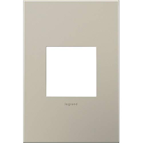Legrand Adorne 1Gang Wall Plate Satin Nickel (AWC1G2SN4) by Legrand