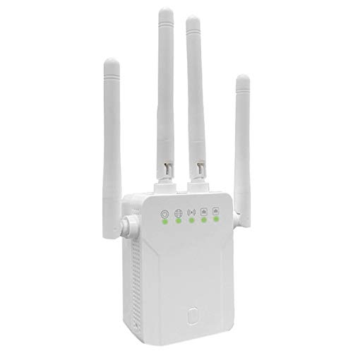 Cobeky 1200 Mbit/S Dual Band 5 GHz Drahtlos WiFi Repeater WiFi Router WiFi Extender 4 Antenne WLAN WiFi VersttRker WEII...