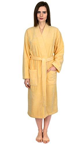 TowelSelections Damen Luxus Robe, Türkische Baumwolle Frottee Kimono Weich...