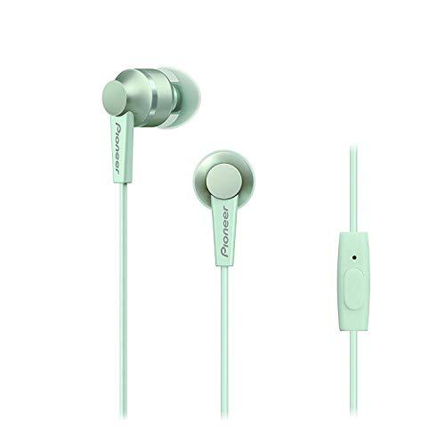 Pioneer SE-C3T-GR Mint Green In-Ear Wired Headphone