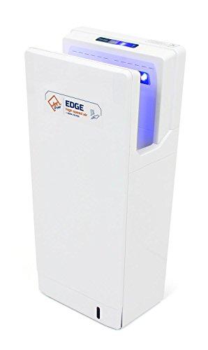 Secador de manos con filtro HEPA Jet Dryer Edge–Potente Sistema JIANYING secador de manos con base en seco–Color Blanco
