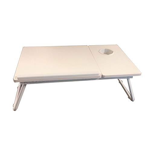 QJJ Beliebt Home Falttisch Laptop Schreibtisch Kleiner Tisch auf dem Bett Studentenwohnheim Lesen und Schreiben Faules Folding Bay Fenster Schreibtisch Einen Kauf wert