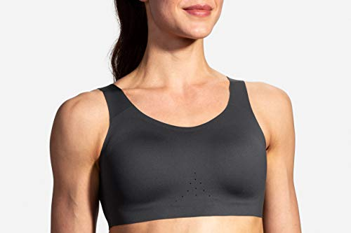 Brooks Women's Dare Scoopback Bra, Asphalt, 34 -C/D