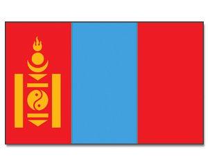 Mongolei Flagge 90 * 150 cm