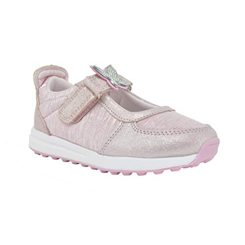 Lelli Kelly Sneaker COLORISSIMA LK7855 Scarpe Bambina Sneakers in Pelle e Tela Fibbia Glitter Pennarelli (28 EU)