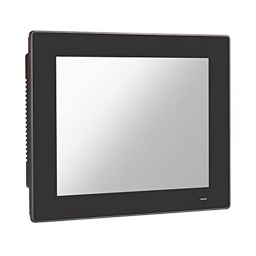 HUNSN 12.1' TFT XGA LED Industrial Panel PC, 10 Point Projected Capacitive Touch Screen, Intel J1900, Windows 7/10 / Linux Ubuntu, PW19, Front Panel IP65, 3COM, FANLESS, (8G RAM/128G SSD)