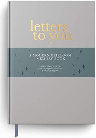 Letters to You A Modern Heirloom Memory Book to Capture Childhood Moments Through the Years product image