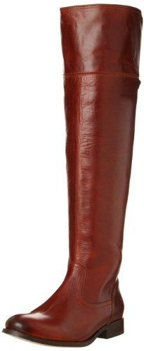FRYE Damen Melissa, Overknee-Stiefel, Cognac Smooth Vintage Leder 77624, 35.5 EU
