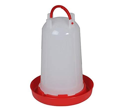 FINCA CASAREJO Bebedero sifónico de plástico para Aves (5 litros)