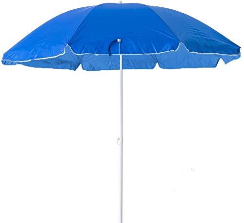 Arcoiris Parasol Playa Sombrilla Plegable para Exterior, Jardín, Balcón y Terraza Sombrilla...
