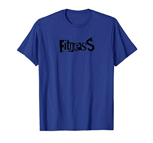Mens FITNESS - Gym Fitness Workout Motivational Design F210 T-Shirt