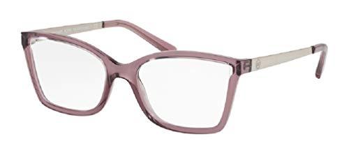 Michael Kors MK4058 CARACAS 3502 54M Burgundy Crystal Injected Rectangle Eyeglasses For Women+FREE Complimentary Eyewear Care Kit