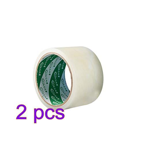 Yarnow 2 Stück Gewächshausreparaturband Kunststofflösung Polyband Permanentes UV-Klares Reparaturband Weatherseal-Filmband Ideal zum Versiegeln Und Nähen von Weiß