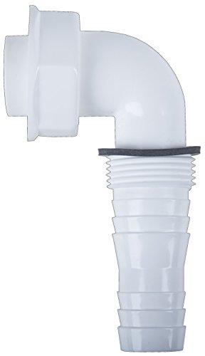Cornat Winkel-Schlauchanschluss, 1 Zoll für Unterputz - Geruchsverschluss, TEC356395