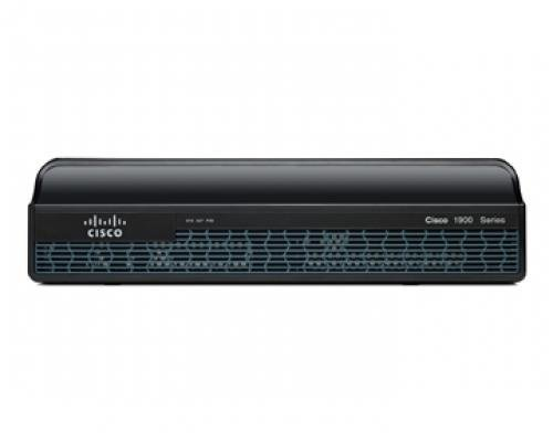 CISCO1941/K9 Cisco 1941 Router w/2 GE,2 EHWIC, 256MB CF/512MB DRAM,