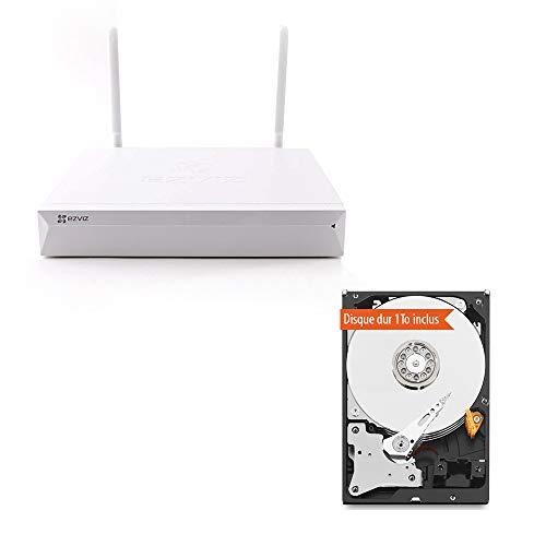 EZVIZ Hikvision X5C-4 ezNVR WiFi 4 kanaals inclusief 1TB harde schijf
