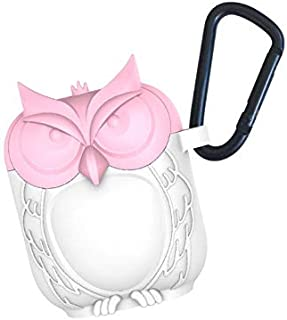 YONTEIA Airpods Cover Drop Protection Case Cover for Apple Airpods 2&1 Charging Case, Cute Owl