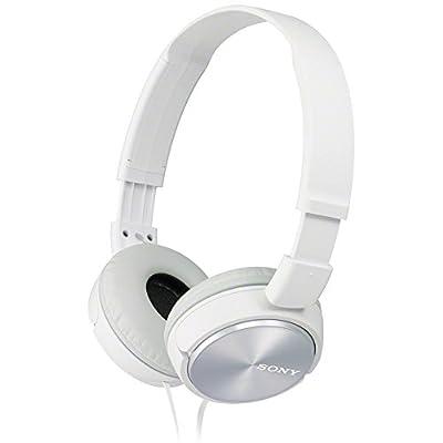 Sony MDRZX310W.AE Foldable Headphones - Metallic White from Sony