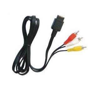 Câble AV RCA NINTENDO pour Super NES, N64, GameCube