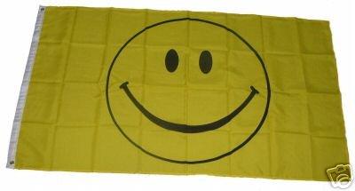 Flagge Fahne Smile Smiley 90x150cm