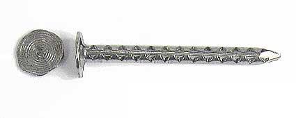 0,25 kg Pappnägel/Schieferstifte Edelstahl A2 2,8x35