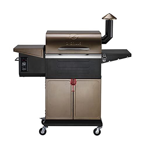 Z GRILLS ZPG-600D 2021 New Model Wood Pellet Grill & Smoker 8 in 1 BBQ Grill Auto Temperature...