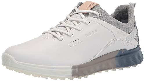 ECCO Damen S-Three Gore-TEX Golfschuh, Weiß/Mirage, 36.5/37 EU