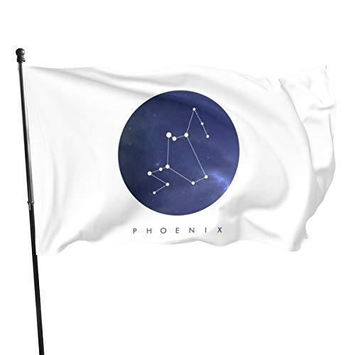 N/ Phoenix Konstellation-Flagge, 91 x 152 cm