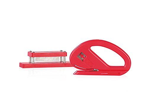 Your Design Geschenkpapierschneider: Geschenkverpackungs-Set: Papierschneider & Geschenkband-Spleißer (Geschenkbandschneider)