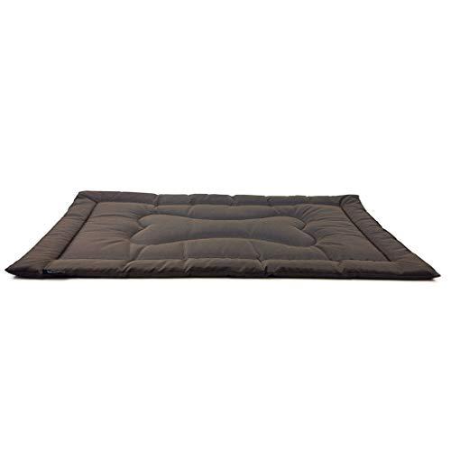 NA. Nangjiang - Alfombrilla de cama para perro con tela Oxford resistente al desgaste, antimordedura para gato, colchón lavable para mascotas