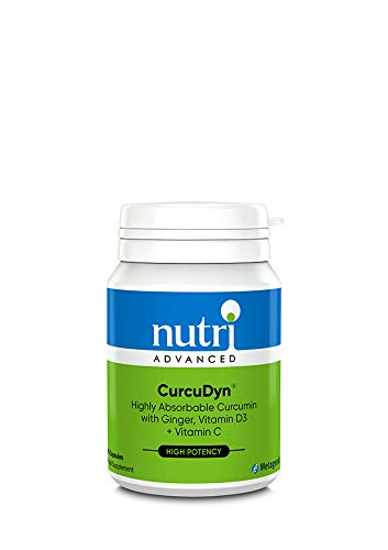 Nutri Advanced Highly Absorbable Curcumin - CurcuDyn 60 Tabs