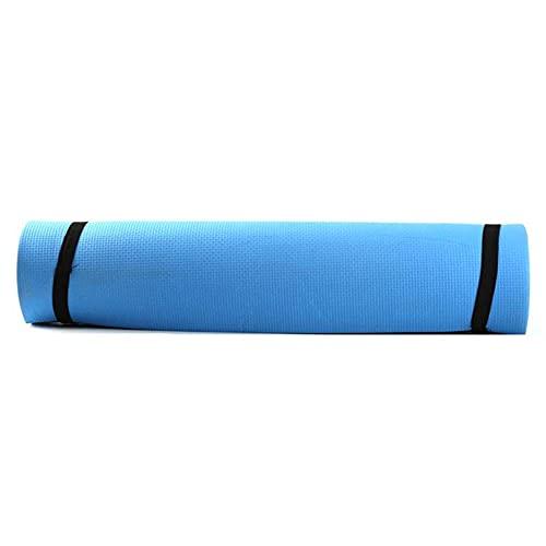 Colchón de yoga antideslizante 1730x610x4mm Colchón deportivo para principiantes Gimnasia ambiental Pilates-Azul_PORCELANA