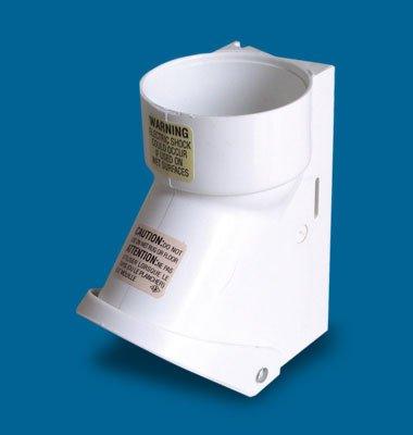 aertecnica serie Open PA450 stekker buitenverlichting met microinterrutore IP44 wit 32 mm.