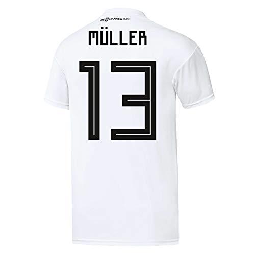 adidas Herren DFB Home Trikot 2018 Müller L