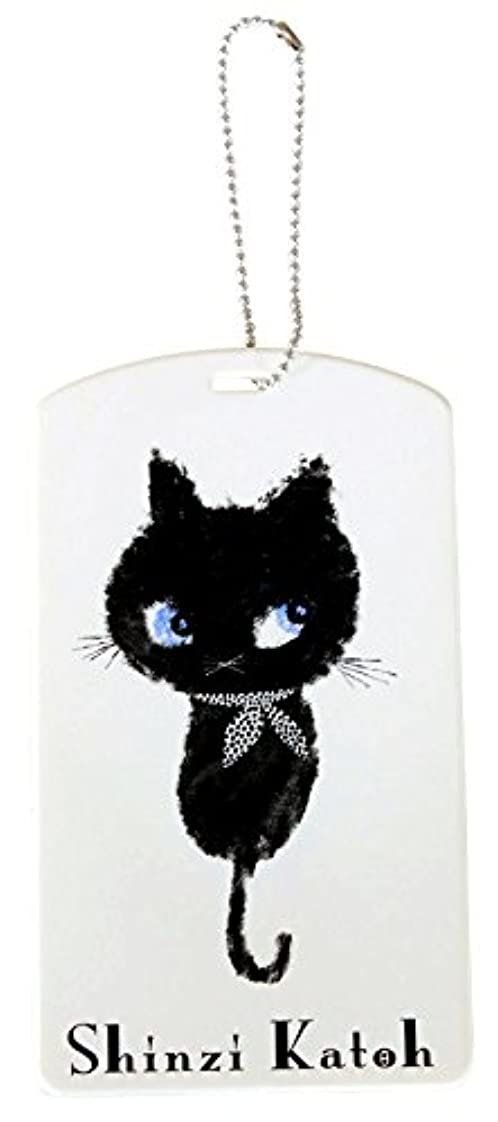 堂々たる楽しむ構成するShinzi Katoh Design パスケース Monochrom cat PSC2022