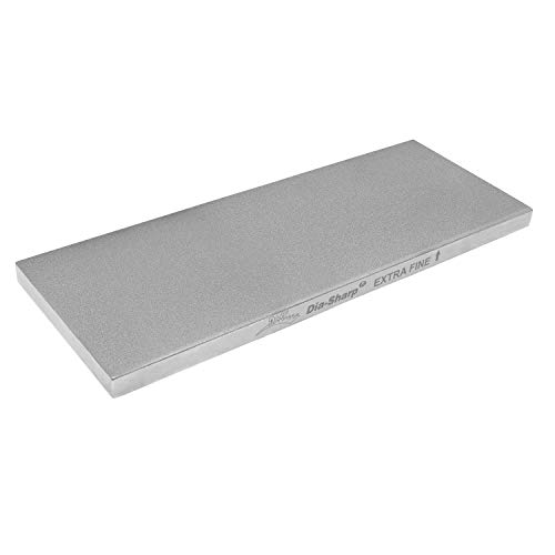 Diamond Machine Technology (DMT) 8-in. Dia-Sharp Diamond Whetstone Bench Stone, Extra Fine Grit...