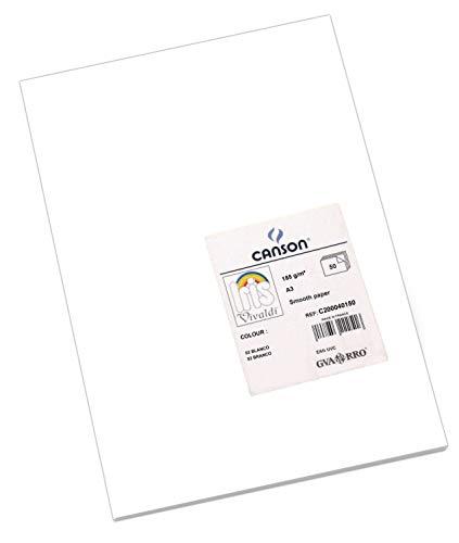 Paquete A3, (50 Hojas) Guarro Cartulina IRIS 185g Blanco