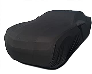 CarsCover Custom Fit 2010-2019 Chevy Camaro Car Cover Blackshield Cashmere-look Covers