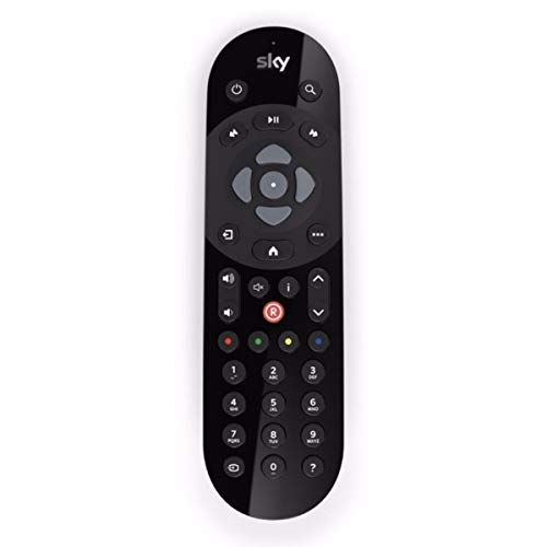 Queen.Y Telecomando Ir di Ricambio Universale per Controller Ir Sky Q Tv Box con Distanza di Lavoro 10 M