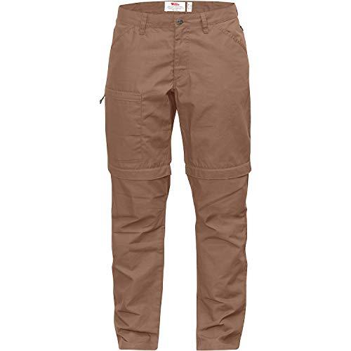 FJÄLLRÄVEN W High Coast Zip-Off Trousers Braun, Damen G-1000 Shorts, Größe 44 - Farbe Dark Sand