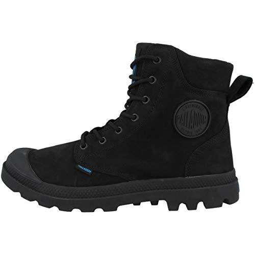 Palladium Pampa Sport Cuff Leather Waterproof, Leather Herren Stiefel, Schwarz (Noir (315 Black)), 42