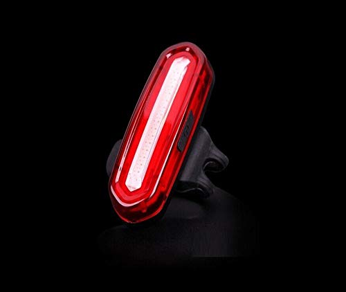 Achterlicht voor fiets, rood, blauw, USB-oplader, waterdicht, mountainbike, fiets, achterlicht.