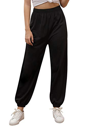 Kate Kasin Women Active High Waisted Jogger Sweatpants Baggy Lounge Pants...