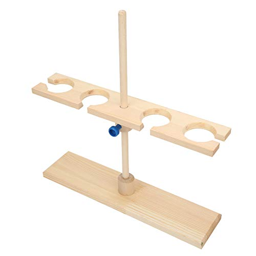 Funnel Stand, 4 Holes Burette Stand, for Schools Laboratories Experimental Places Research Institutes