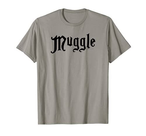 Harry Potter Muggle White Camiseta