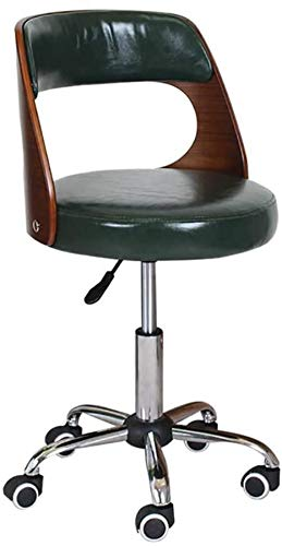 Computerstoel Kruk Kassa Bureau Receptie Hefstoel Kruk In hoogte verstelbare 360 ° draaistoel Ergonomische kruk Stoel