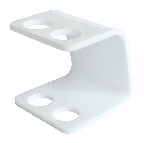 Seemii Zahnbürstenhalter für elektrische Bürstenköpfe - 2 Kopf Halter, Plastik, Weiß