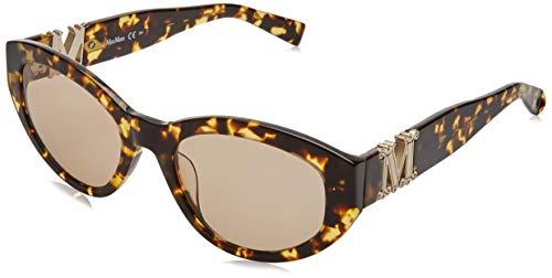 MaxMara MM Berlin II/G Sunglasses, YEL RDHAV, 52 Womens